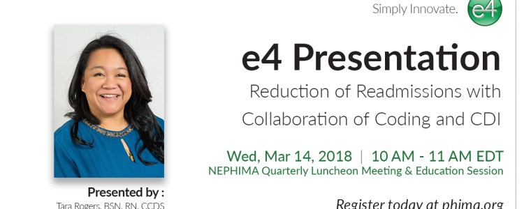 Reduction of Readmissions with Collaboration of Coding and CDI