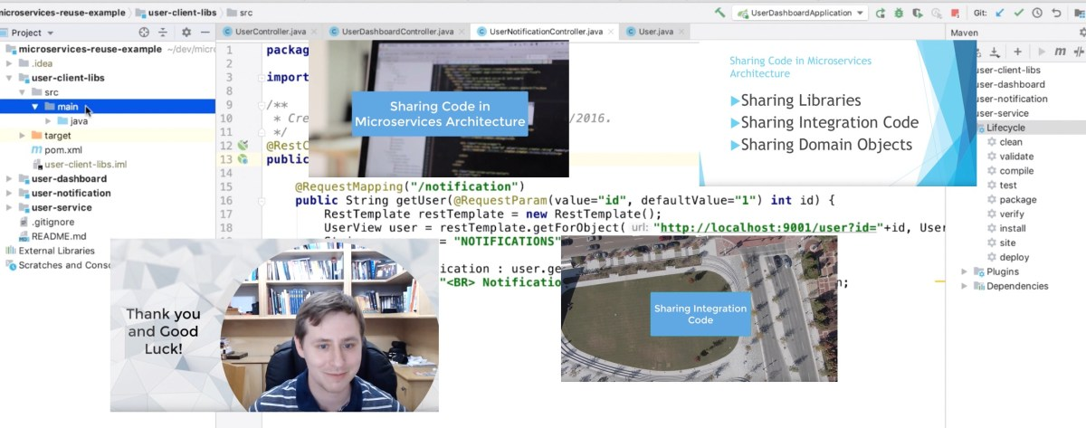 Code Sharing in Microservices Architecture – YouTube Course