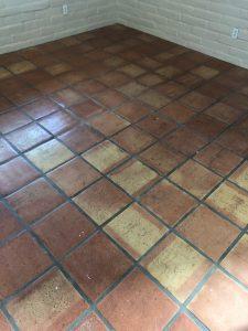 Ea Restoration Saltillo Tile Before Cleaning