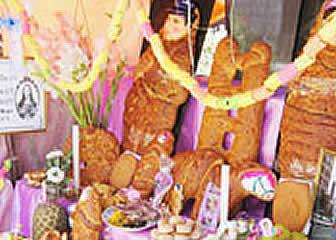 Tantawawas en la festividad de Todos Santos en Bolivia