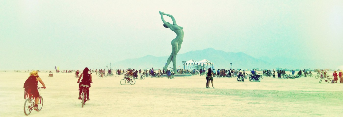 Have You ever heard of this amazing place? Burning Man free Festival.