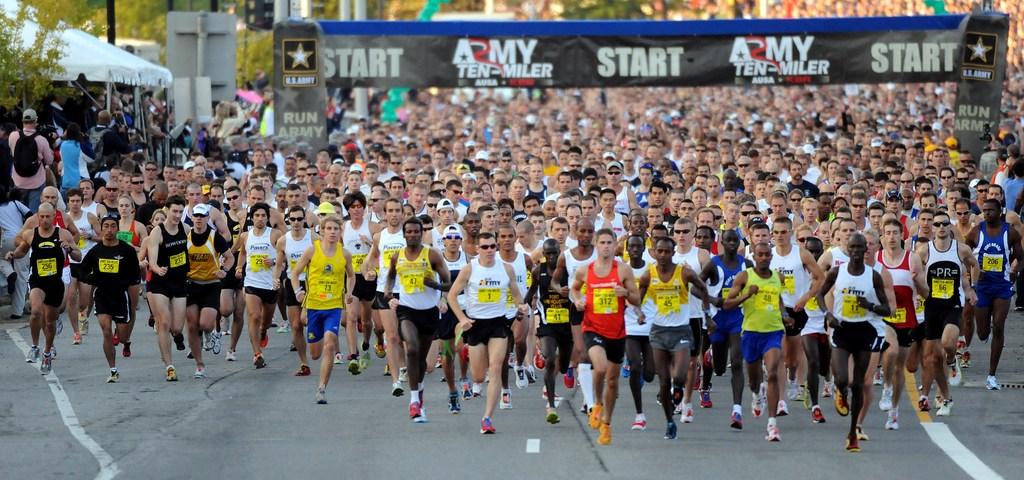 My experience with a Warsaw's half-marathon.