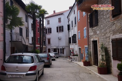 Vrsar's streets.