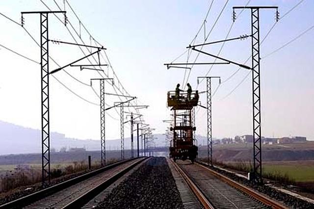 Electrificación ferroviaria en líneas de alta velocidad