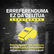 Donostia Gure Esku dago Manifestación