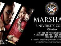 Marshalls University College, Marshalls Student Portal: marshalls.edu.gh