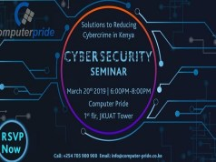 Solutions To Cybercrime Seminar - 2019 Free Events