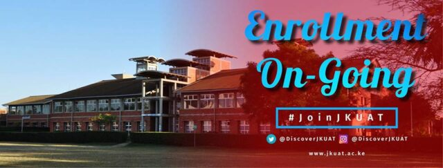 Jomo Kenyatta University, JKUAT Admission Requirements: 2019/2020
