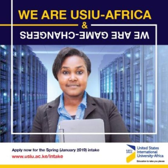 United States International University, USIU Admission and Application Forms: 2019/2020