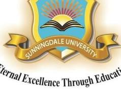 Sunningdale University, SU Zambia Cut Off Points: 2019/2020