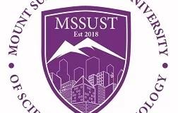 Mount Summit Stone University, MSSUST Cut Off Points: 2019/2020