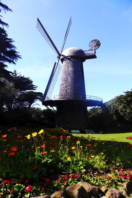 Dutch Windmill, Golden Gate Park, San Francisco