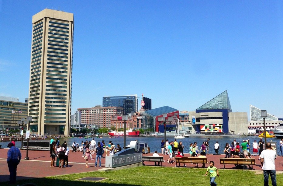 Inner Harbor, Baltimore, Maryland; What to do in Baltimore