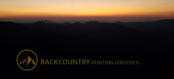 BackCountry Hunting Logistics