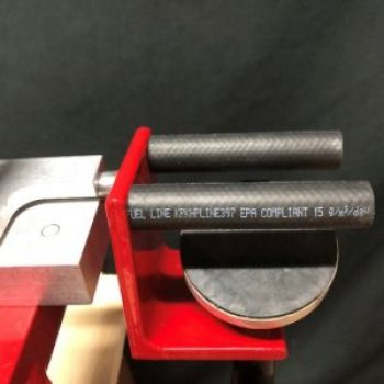 Close up of the RAM bow vise