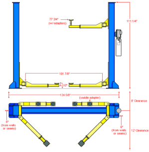 Asymmetric VS Symmetric 2Post Car Lifts  Eagle