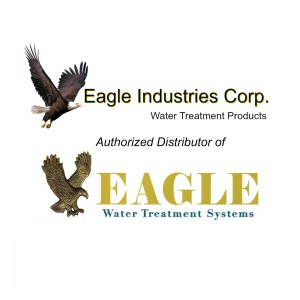 Eagle Industires and Eagle Water Logo