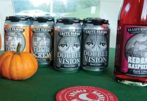 Critz Farms is now offering two of its hard ciders for sale in cans. photo by Jason Emerson