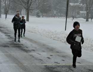 Snowflake run