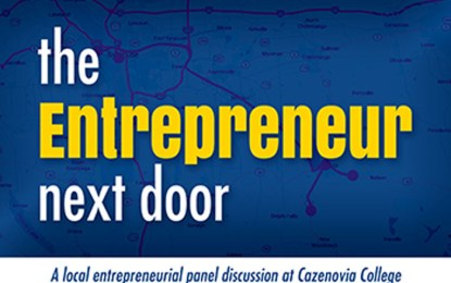 'The Entrepreneur Next Door' panel discussion set for March 29