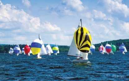 Lightning Regatta held on Cazenovia Lake