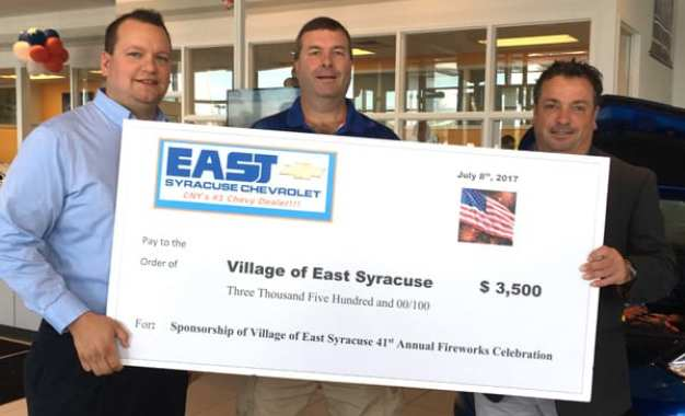 East Syracuse fireworks will be held July 8