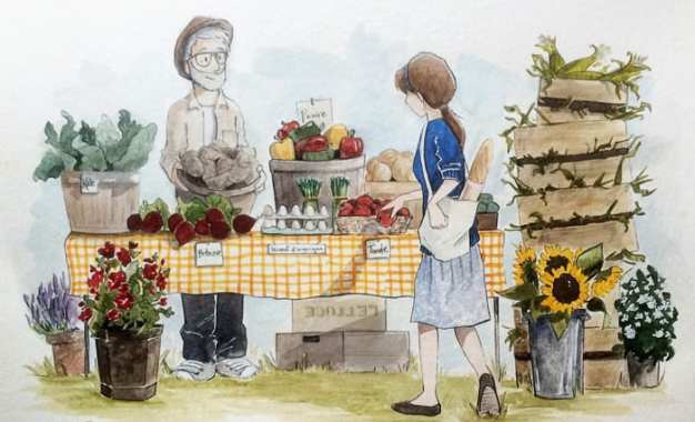 Two generations of watercolor on display at Cazenovia Public Library