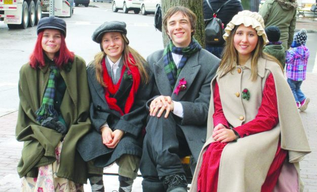 It is starting to look a lot like Dickens Christmas