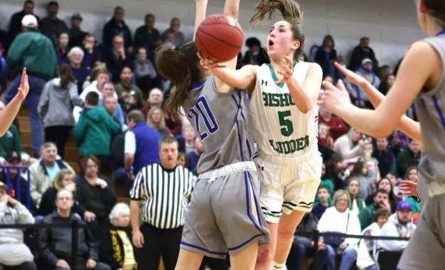 Ludden girls edge Westhill in Class B sectional semifinal
