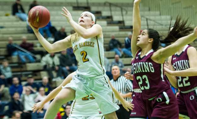 Girls basketball Wildcats fall in state semifinal to Ossining (w/photo gallery)