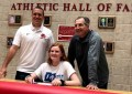 JD track & field athlete signs letter of intent