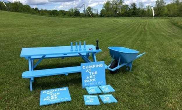 Camping at the Art Park returns in June