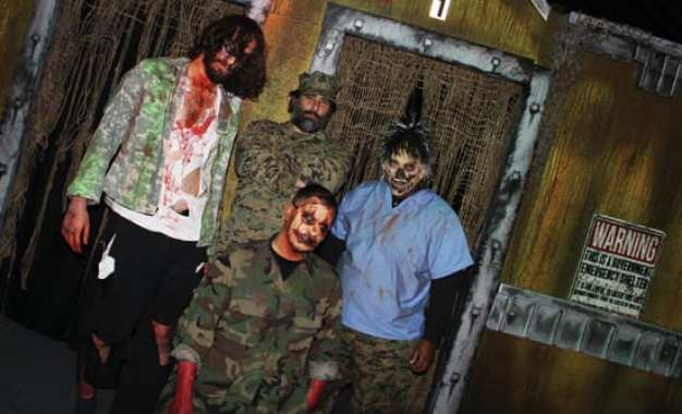 Frightmare Farms' zombie haunt gives new meaning to 'dead' mall