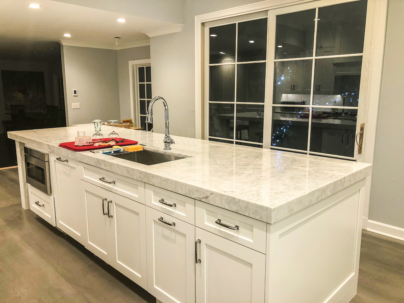 The Small Kitchen Island Size Guide Eagle Construction Remodeling