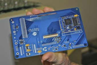 Circuit Board after Components Are Applied