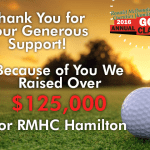 eagle helps the community and RMHC Hamilton