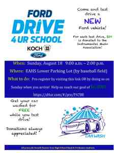 Drive For Your School flyer preview