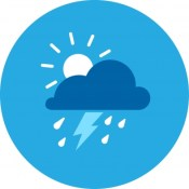 Weather icon from NOAA