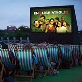 Bollywood movie, English Vinglish at Springbridge Road car park