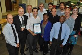 Award winning transport team