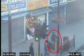 Southall flytipping fine CCTV