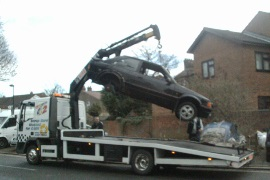 Dumped cars removed by council
