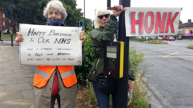 Honk for the NHS