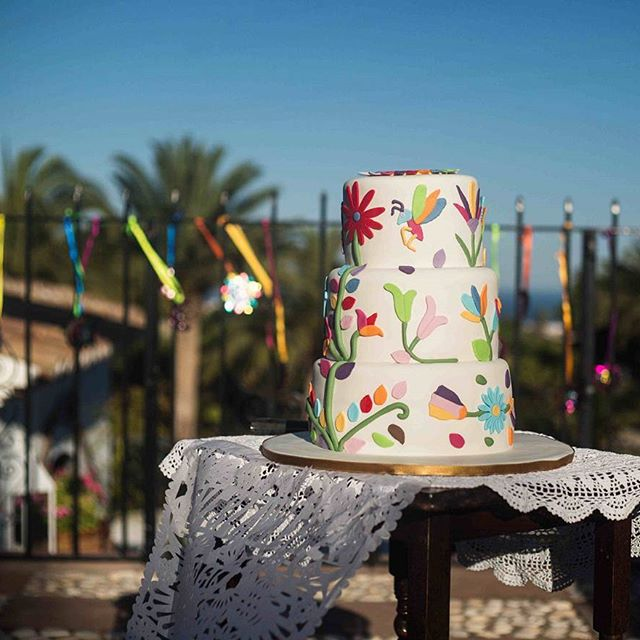 Instagram Post - Delicious Looking Wedding Cake in #frigilliana | #love #destinationweddings #nerja #weddingvideo #weddingphotography #spain #weddingcake