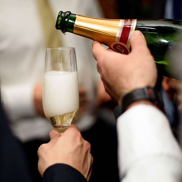 "Instagram Post - ""Champagne is one of the elegant extras in life"" - Charles Dickens 