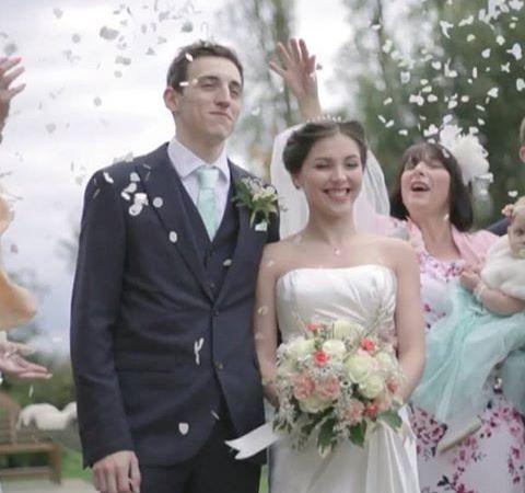 Instagram Post – Confetti Time! #love #weddings #londonwedding #weddinglondonphotographer #weddingvideo