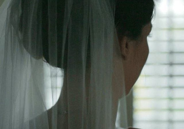 Instagram Post – Bride's First Look In The Mirror #love #wedding #weddinglondonphotography #weddingvideo