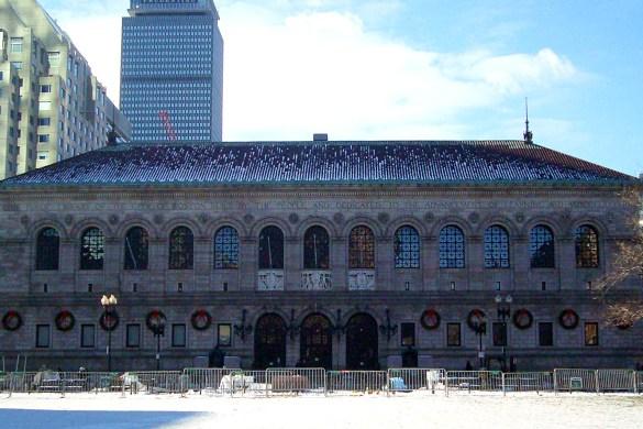 Public-library-Copley-square-Boston-usa-america