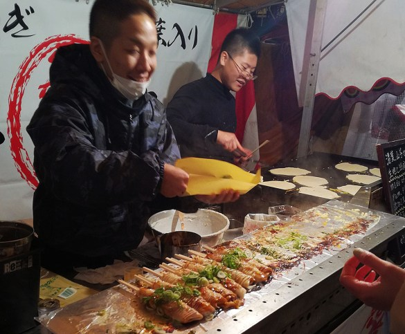 Bancarella-street-food-giapponese-capodanno-Kyoto-Giappone-Japan