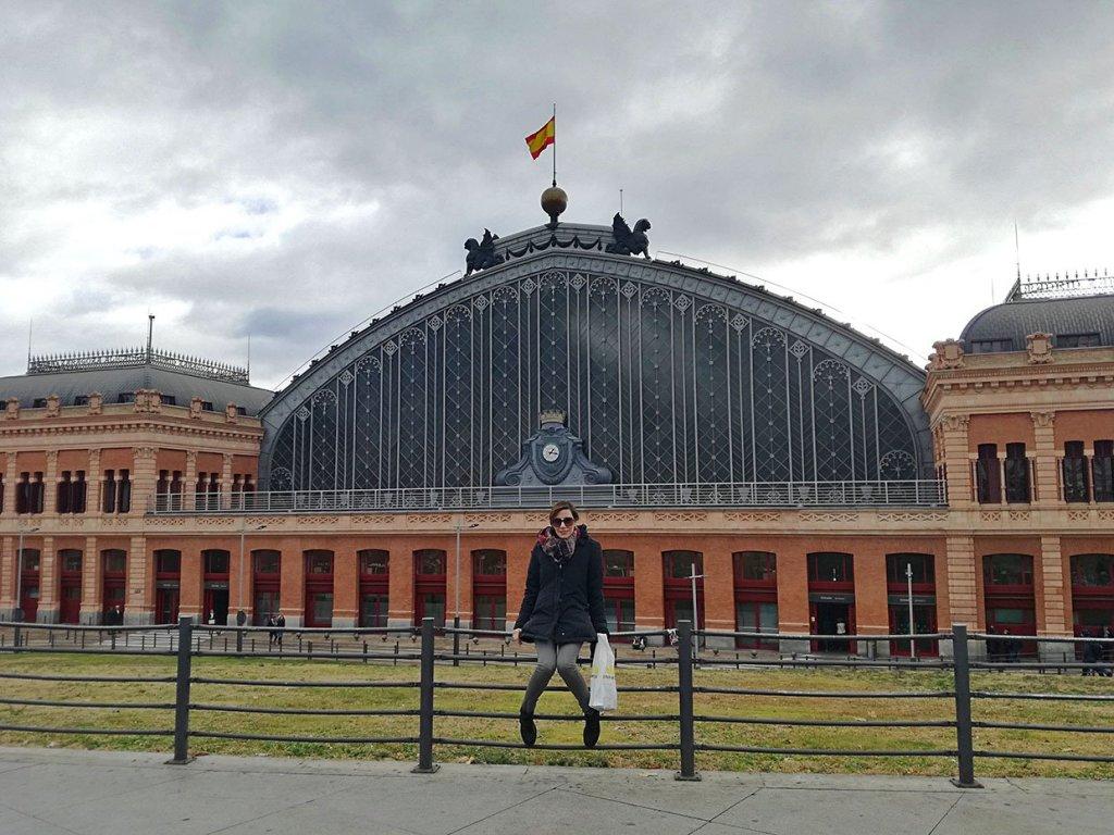 Stazione Atocha Madrid Spagna Spain